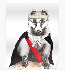 Judge Badger Poster