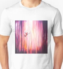 Everyday Magic - a semi abstract forest landscape with birds Unisex T-Shirt