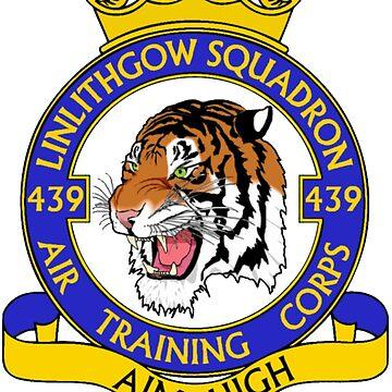 439 (Linlithgow) Squadron (Black) by 439sqnapparel