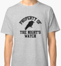 Funny Property of the Night's Watch Classic T-Shirt