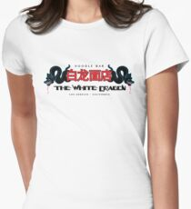 Blade Runner - White Dragon Noodle Bar Bright Variant Womens Fitted T-Shirt