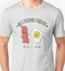 Bacon and Eggs Best Friends Forever  T-Shirt