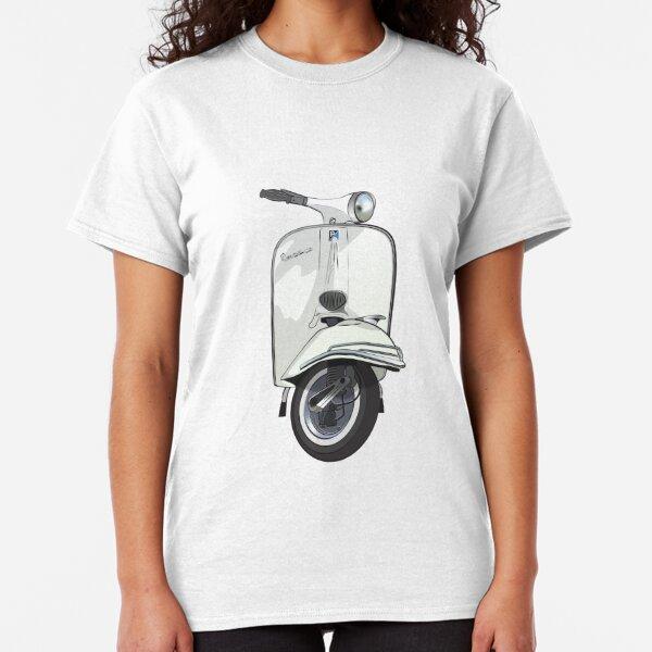 Vintage Vespa 150 - White Classic T-Shirt