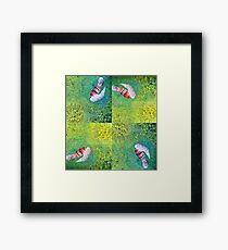-Ken- Framed Print