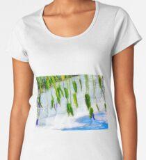 Water Lily Zen Reflection Women's Premium T-Shirt