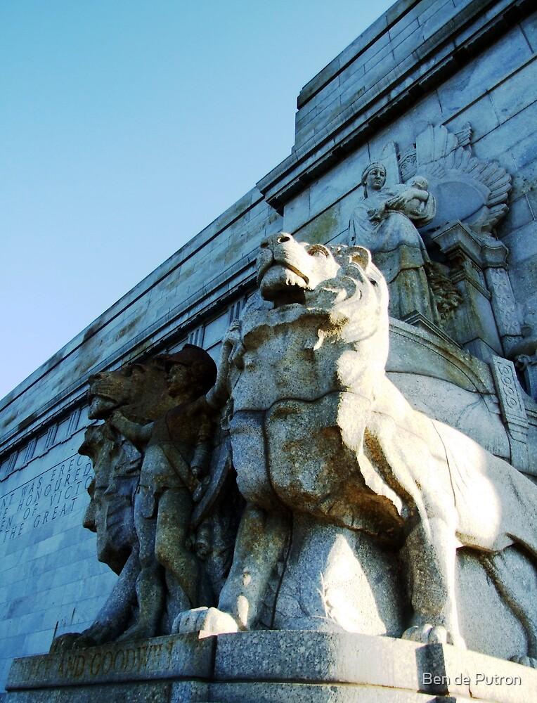 Stone Lions by Ben de Putron