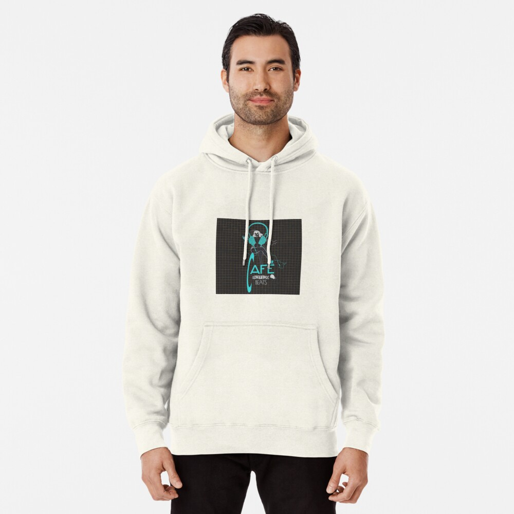 Sketchy Beats Squared Subtract Pullover Hoodie