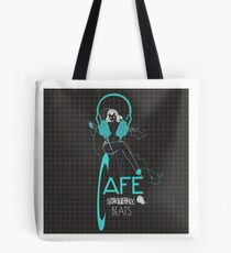 Sketchy Beats Squared Subtract Tote Bag
