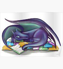 Póster Libro Dragon