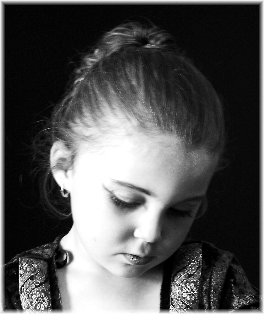 Alyssa (B&W) by Tara Johnson