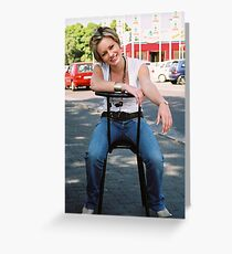 portraiture  Greeting Card