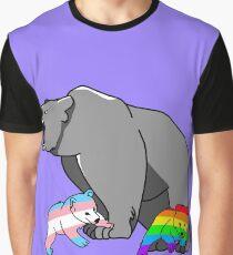 Mama/Papa Bear LGBT Pride Graphic T-Shirt