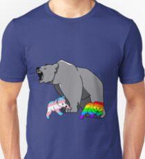 Camiseta ajustada Mama / Papa Bear LGBT Pride