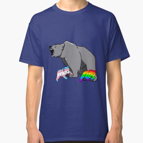 Mama/Papa Bear LGBT Pride Classic T-Shirt
