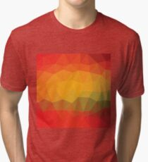 abstract colored background Tri-blend T-Shirt