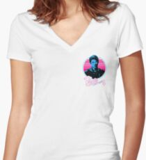 Archie Andrews Vector Women's Fitted V-Neck T-Shirt