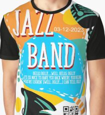 Music poster for jazz band live festival Graphic T-Shirt
