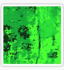 green background Sticker