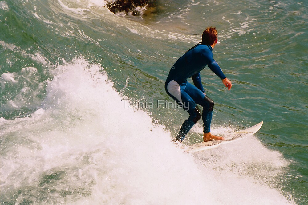 Surfing The Blue by Tainia Finlay