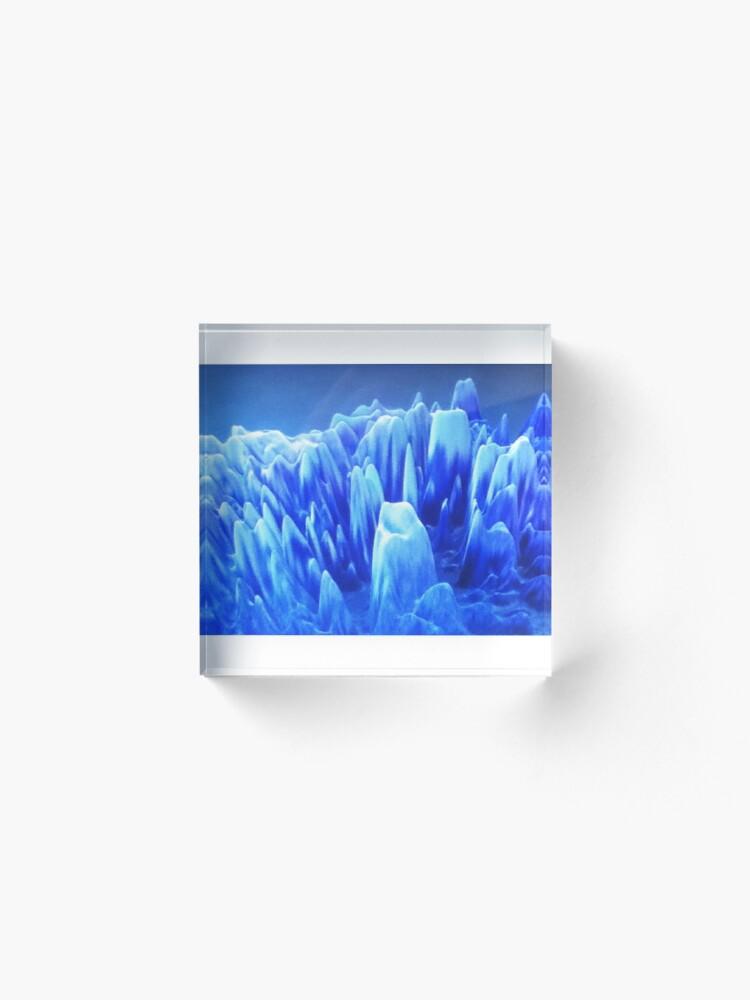 Alternate view of Astral Metropolis Acrylic Block