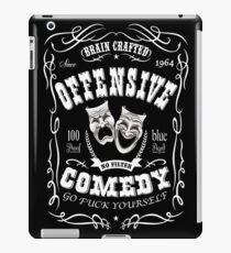 Tribute to standup comedy iPad Case/Skin