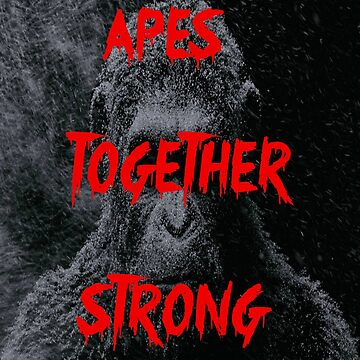 Apes Together Strong - Planet of the Apes by FilmFactoryRayz