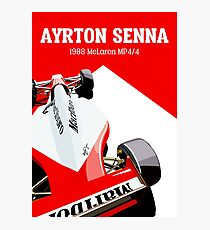 Senna Photographic Print