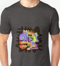 Abstract surreal graphic design background. Unisex T-Shirt