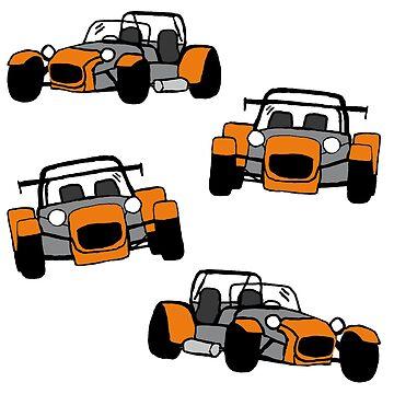 Orange Kit Car by TesniJade