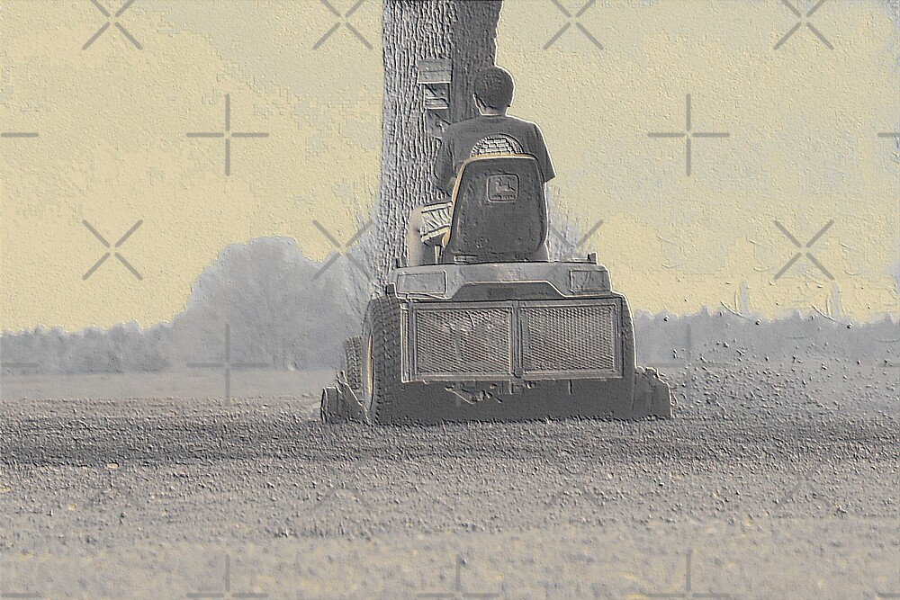 """John Deere """"Nothing runs like a Deere"""" by connie campbell"""