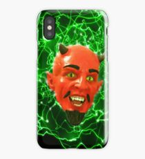 Wacky Red Devil Silly Fresh iPhone Case/Skin