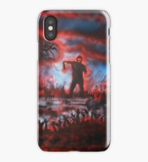 red zombies iPhone Case/Skin