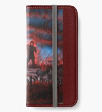 red zombies iPhone Wallet/Case/Skin