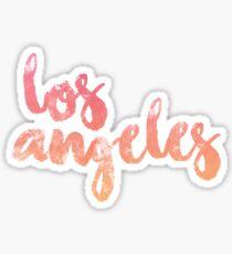 Pegatina los Angeles