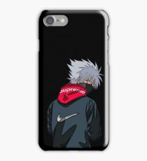 Kakashi Black iPhone Case/Skin