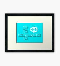Gaming [C64] - Paradroid Framed Print