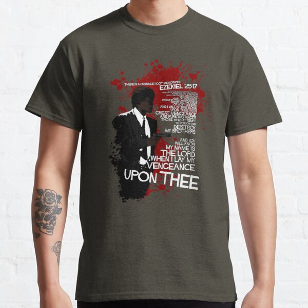 Movie Quote with-a-gun 4 PULP FICTION Classic T-Shirt