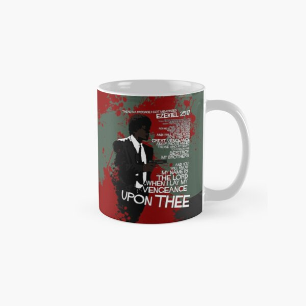 Movie Quote with-a-gun 4 PULP FICTION Classic Mug