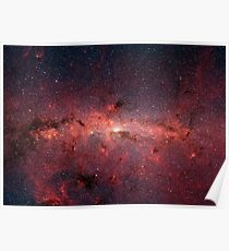 The Centre of the Milky Way Galaxy, Wallpaper Poster
