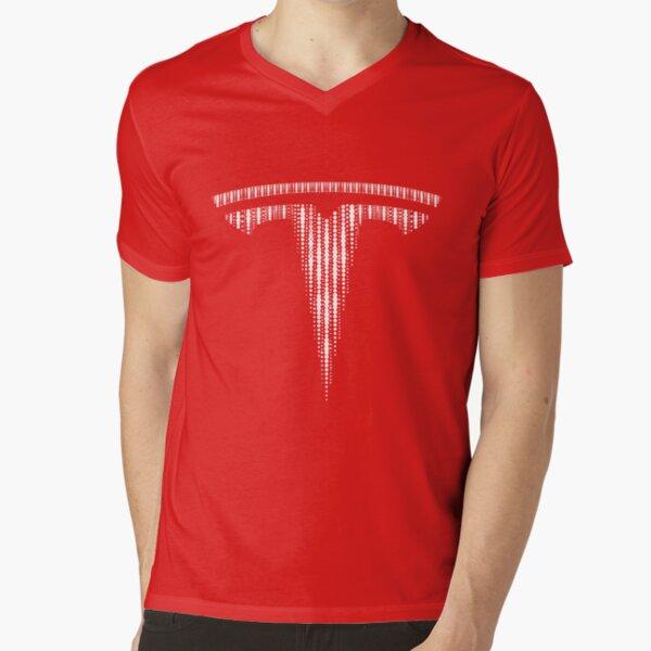 Tesla fan art - The Change V-Neck T-Shirt