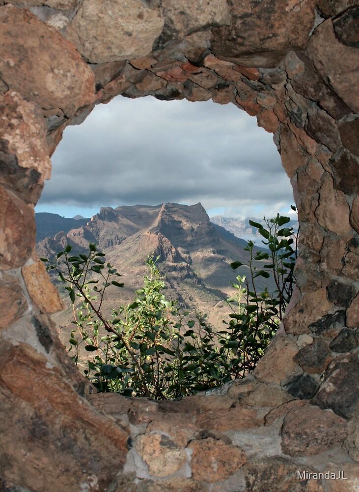 Fataga View by MirandaJL