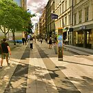 Drottninggatan by Barry W  King