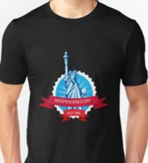 Independence day July 4th Statue of Liberty Unisex T-Shirt