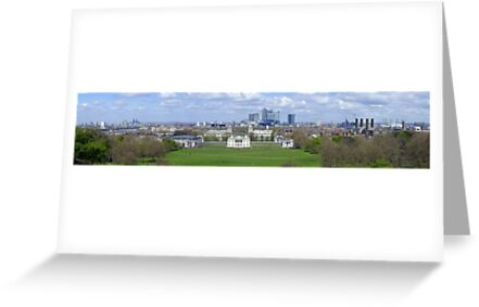 View from Greenwich hill by Sergey Galagan