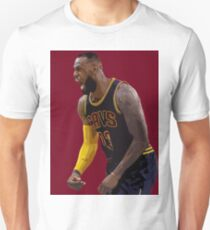 LeBron James in action Unisex T-Shirt