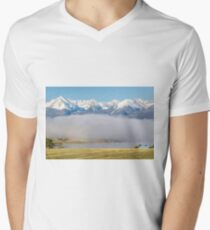 In the Clear Men's V-Neck T-Shirt
