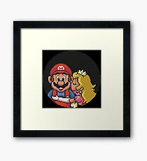 Super Mario All Stars Lost Levels Framed Print