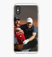 Jordan Spieth & Caddy Michael Greller at Traveler's Championship 2017 iPhone Case