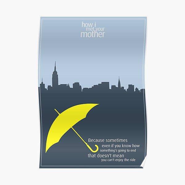 Cómo conocí a vuestra madre - Paraguas Póster