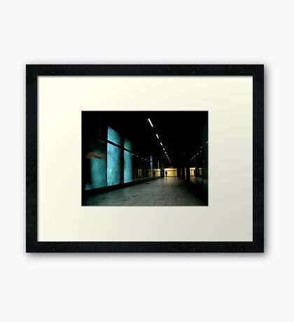 The Parting Framed Print